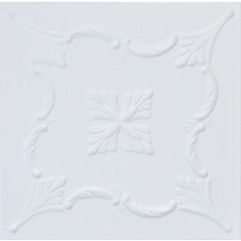 R38 STYROFOAM CEILING TILE 20X20 - PLAIN WHITE