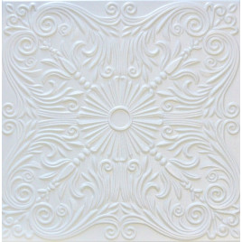 R39 STYROFOAM CEILING TILE 20X20 - PLAIN WHITE