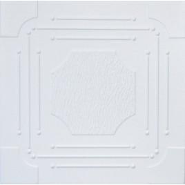 R46 STYROFOAM CEILING TILE 20X20 - ANTIQUE WHITE MATTE