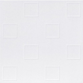 R4 STYROFOAM CEILING TILE 20X20 - PLAIN WHITE