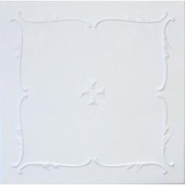 R5 STYROFOAM CEILING TILE 20X20 - ANTIQUE WHITE MATTE