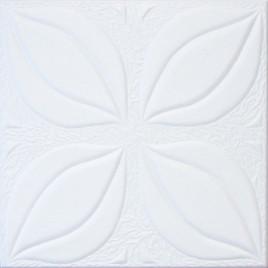 R7 STYROFOAM CEILING TILE 20X20 - TULIP - PLAIN WHITE