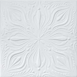 R9 STYROFOAM CEILING TILE 20X20 - PLAIN WHITE
