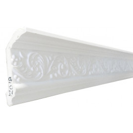 SF12018 PU POLYURETHANE CROWN MOLDING LOT OF 6 - ANTIQUE SILVER