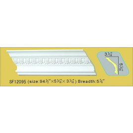 SF12095 PU POLYURETHANE CROWN MOLDING LOT OF 6
