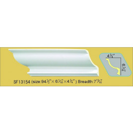 SF13154 PU POLYURETHANE CROWN MOLDING LOT OF 6