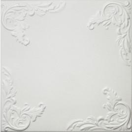 R101 STYROFOAM CEILING TILE 20X20 - PLAIN WHITE