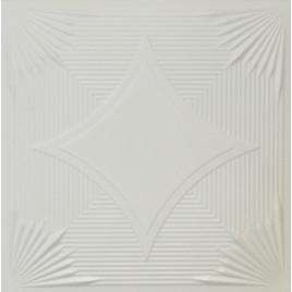R14 STYROFOAM CEILING TILE 20X20 - PLAIN WHITE
