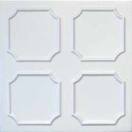 R1 STYROFOAM CEILING TILE 20X20 - PLAIN WHITE