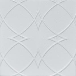 R23 STYROFOAM CEILING TILE 20X20 - PLAIN WHITE